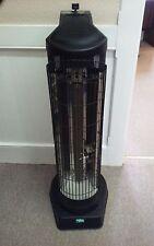 Propane Radiant Patio Tower Heater 35,000 BTU Model PL35VPA Piezo Ignition Black