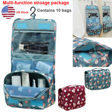 Portable Travel Storage Makeup Toiletry Organizer Pouch Hanging Bag Waterproof