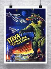 From Outer Space Vintage Sci-Fi Movie Poster Rolled Canvas Giclee 24x30 in.