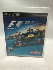F1 2012 Sony PlayStation 3, 2012 PS3 Codemasters Racing Video Game