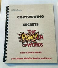 Discover Which Words get Results with this Internet Marketing Book of Words