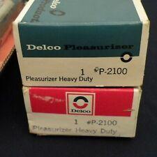 b] NOS 68-74 Chevy Nova REAR Pleasurizer HD Shock Absorbers PAIR P2100 3198300
