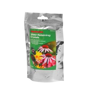 Water Retaining Crystals 120g Rain Gel Swell Great For Hanging Baskets Tubs Pots