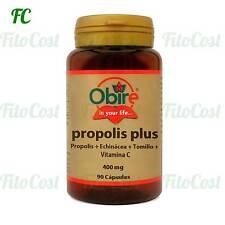 PROPOLIS PLUS (Propoleo + Echinacea + Tomillo + VIT C) 90 Cápsulas - OBIRE -