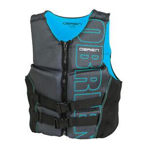 O'Brien Flex V Back BioLite Impact Vest Blue