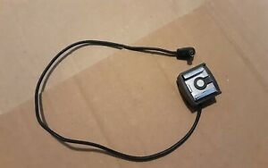 Vintage Off Camera Hotshoe Flash Adapter With Sync Lead in Excellent Condition