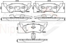 Allied Nippon Freno Trasero Pad Set se adapta Chrysler NXG440