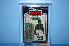 STAR WARS AFA GRADED 2010 TVC MINT ON CARD FIGURE LUKE BESPIN FATIGUES 8.5