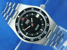 Omega Seamaster Divers F300Hz Watch Vintage Circa 70s Serviced Tuning Fork