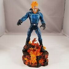 2007 Marvel Diamond Select Ghost Rider Action Figure with Base - Rare