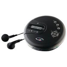 GPX PC332B Portable CD Player Antiskip Protection Fm Radio Stereo Earbuds Black