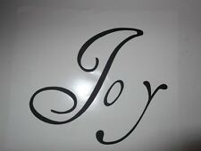 """Joy"" vinyl wall art sticker decal home indoor - choose colour"