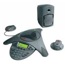 Polycom SoundStation VTX 1000 Conference Phone Bundle 20' ft Mic Range
