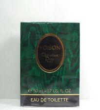 Poison Christian Dior 1.7oz Women's  Eau de Toilette Splash Old Version Sealed