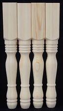 Sgabello da toeletta gambe LS Set di 4, in pino massello, 55*55*430mm in legno (55) un fhcls