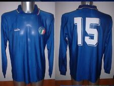 Italy Italia BAGGIO Diadora Shirt Jersey Football Soccer Adult Large Vintage 90