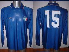 Italy Italia BAGGIO Diadora Shirt Jersey Football Soccer Adult Large Vintage 90
