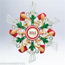 Hallmark 2011 Savory Snowflake Kitchen Utensil  Ornament