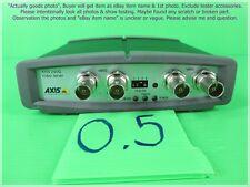 AXIS 240Q, 4CH. Video Server as photo, sn:58D3, Useable 3 ch. & FAIL 1 ch.
