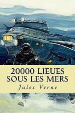 20000 Lieues Sous les Mers by Jules Verne (2017, Paperback)