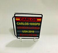 1:18 Pitboard F1 Formula1 Carlos Sainz 100GPS USA 2019 to Spark minichamps