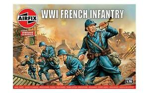 Airfix 00728V WWI French Army Infantry 1/72 Scale Plastic Model Figures