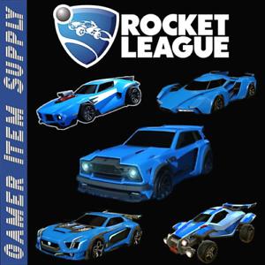 [PS4] Rocket League | Every Default Car | FENNEC, JÄGER, ENDO, ZSR, GT, GP etc.