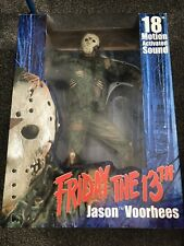 "Jason Voorhees 18"" - Neca Reel Toys - Motion Sensor Activated Friday the 13th"