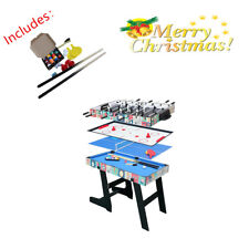 4ft 4 in 1 KID Game Table Pool Foosball Table Tennis Hockey Kids World Cup