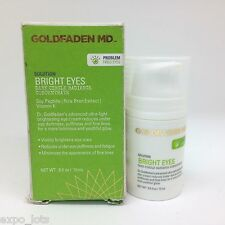 Goldfaden MD BRIGHT EYES Dark Circle Radiance Concentrate 0.5 fl oz - BOXED
