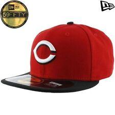 Cappelli da uomo rossi in poliestere