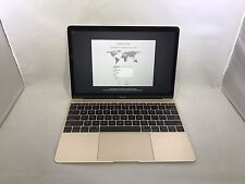 MacBook 12 Gold Early 2015 MF855LL/A 1.1GHz M 8GB 256GB Excellent Condition