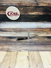 Case 1983 (7 Dots) 6255 1/2 Pen Knife With Jigged Delrin Handles-Mint - #17