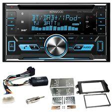Kenwood DPX-7000DAB Bluetooth USB CD Einbauset für Suzuki SX4 Fiat Sedici