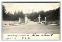 Vintage View of State Hospital Entrance, Middletown NY c1906 Postcard L26