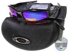 Oakley Flak Jacket XLJ Sunglasses OO9009-08 Polished Black w/ Prizm Trail | BNIB