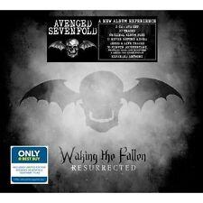 AVENGED SEVENFOLD Waking The Fallen Resurrected 2CD+DVD+ FLAG best buy