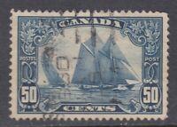 "Canada Scott #158 50 cent Bluenose ""Scroll""   F *"
