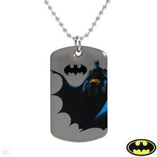Batman - Warner Bros. DC Comics - Military Style ball chain -  Dog Tag Style