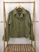 Jimmy Buffett Men's Souvenir Tour Style Military Army Jacket Size L