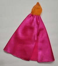 New listing BARBIE DOLL CLOTHES ORANGE & PINK GOWN DRESS HALTER PARTY FASHION STYLE CUTE