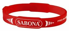 Sabona Pro Magnetic Sport Wristband - Sports Package Red, Small/Medium 7.0