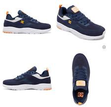 DC Men's E.Tribeka Skate Shoe Men's Size 11 Skateboarding Shoes Navy Blue $90+