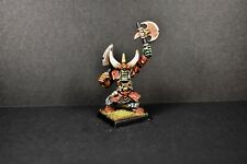 HEROE DE METAL ORCO NEGRO BLACK ORC ORCOS Y GOBLINS PRO PAINTED WARHAMMER AOS