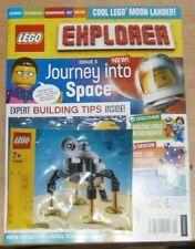 LEGO Explorer Magazine #4 2021 Explore The Rainforest Cool Tree Frog Toy