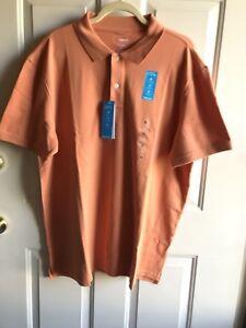Nwt Sonoma Mens Flewear Polo Shirt stretch fabric soft touch  sun baked size XL