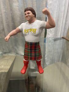 """WWF LJN Rowdy Roddy Piper w/ Kilt Titan Sports 1984 8"""" Wrestling Figure WWE"""