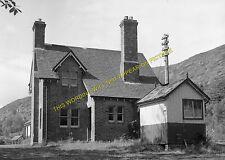 The Mound Railway Station Photo. Rogart to Golspie and Dornoch Lines. (11)