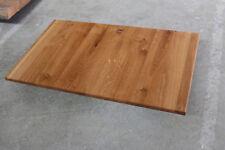 PLATEAU DE TABLE PLAQUE Chêne sauvage rustique bois massif NEUF Table Brett