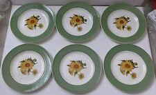 Earthenware Tableware British Wedgwood Pottery Side Plates